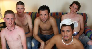 It's orgy time here at BSB.  I traveled to Central Florida where I had some guys meet me to do some shoots, and I used 