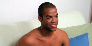 Derek has already starred here on Broke Straight Boys in an oral scene with Tyler, but after that I wanted to get him in a solo scene.  He has a great looking body and he is great to film.