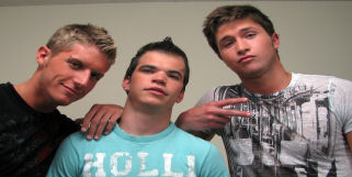 Logan is back and this time he is with Jay and Holden.  This is one scene you don't want to miss.