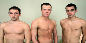 Austin, Damien and CJ are in this hot shoot together.  We only have one more shoot to go until  moving to HD.