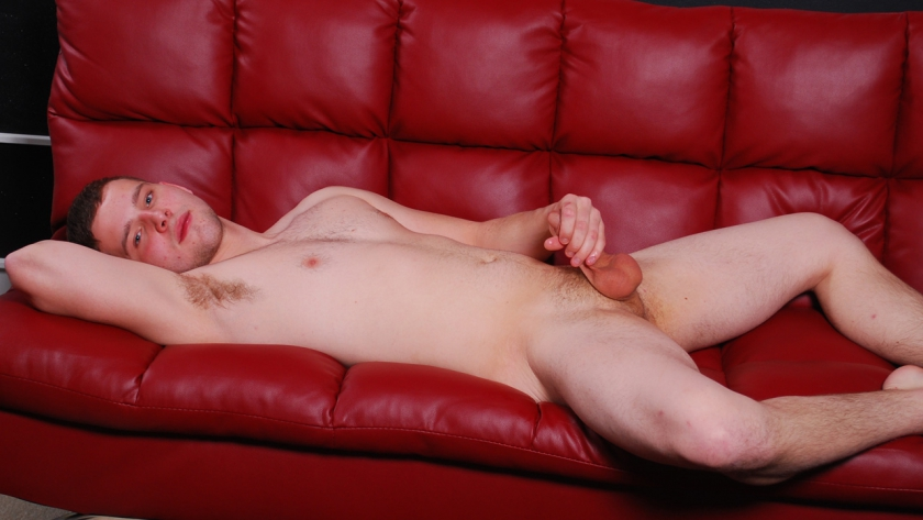 Newbie Lucas Weston doesn't want to be here, but needs cash for the rent. He's uncomfortable during the entire video, but every straight boy has a price. He fingers his virgin hole and laps up his own cum. This southern boy has potential and might return!