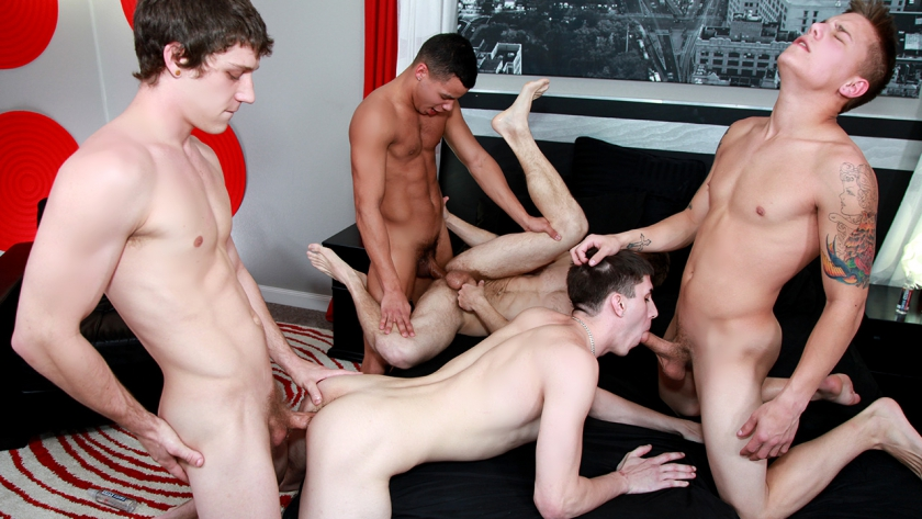 The 1000th Broke Straight Boys scene! Prepare yourself for a whole lot of 