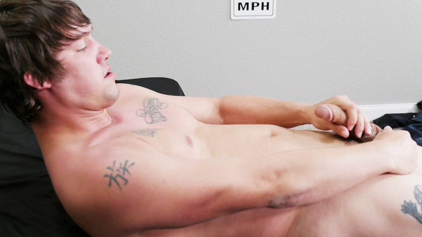 Meet our newbie, Colt Dixon!  This guy isn't afraid to take off his clothes and show off that hot  body...and thick cock, he is a dancer from Florida and knows how to massage his cock and shoot a big load.