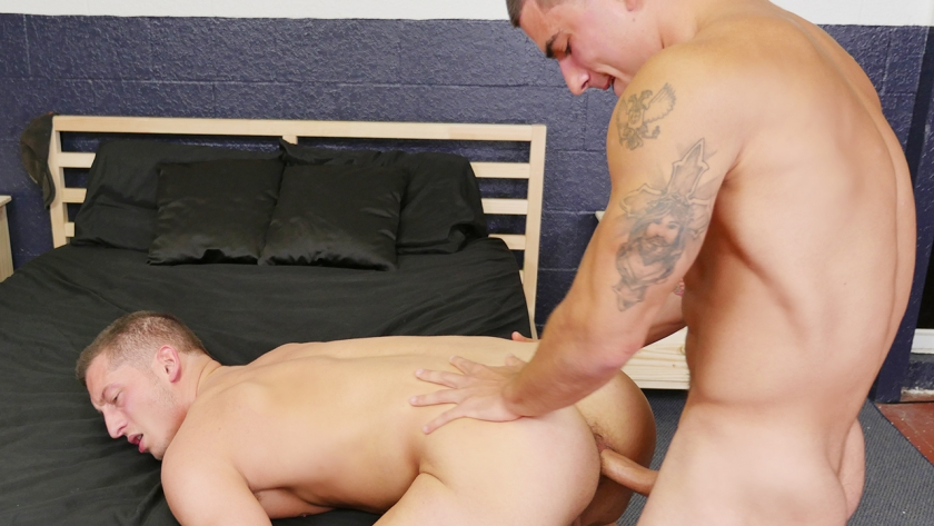 Vadim Black has been patiently waiting for more chances to fuck other guys instead of always taking it up the ass...and  today is one of those chances!  Watch him fuck Drake Tyler bareback.