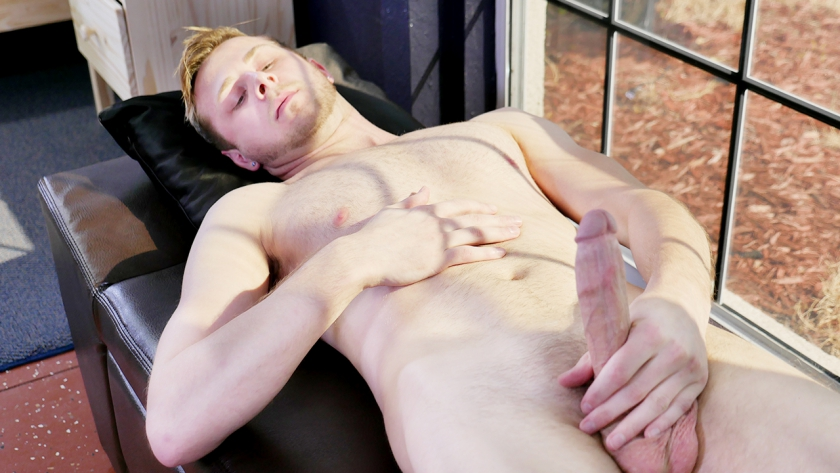 Help us give Chandler Scott a warm welcome as he makes his debut here on BSB in this sexy solo scene! He is an 