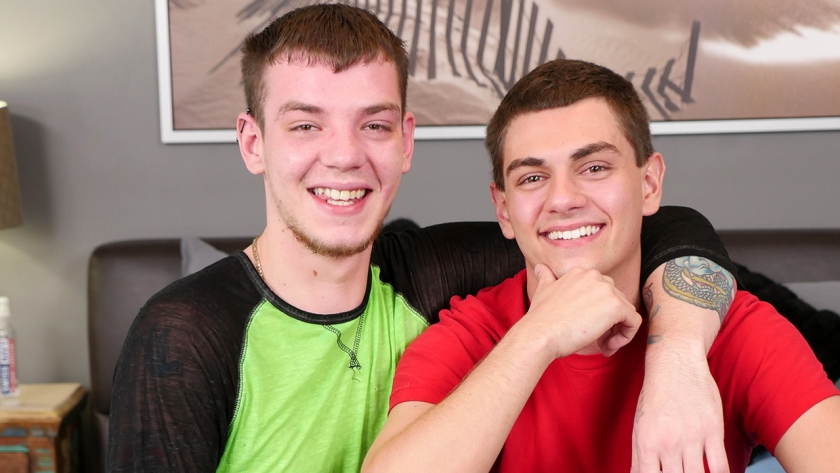 Tyler and Ryan made a very sexy flip scene for your enjoyment...and judging by their cumshots,  they enjoyed it too!