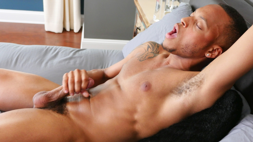 Gabriel Jerking Off His Nice Straight Cock