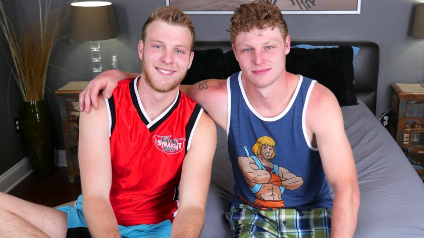 We've got Benjamin and Levi in the studio today, and these two sweet and sexy guys are ready to  fuck!  Of course they have some fun making out and sucking dick first!