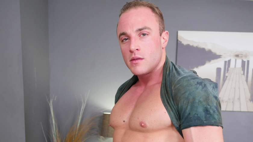 Jacob Durham is new to BSB, but he certainly isn't camera shy!  Enjoy watching this ripped stud  stroke his cock until he cums!