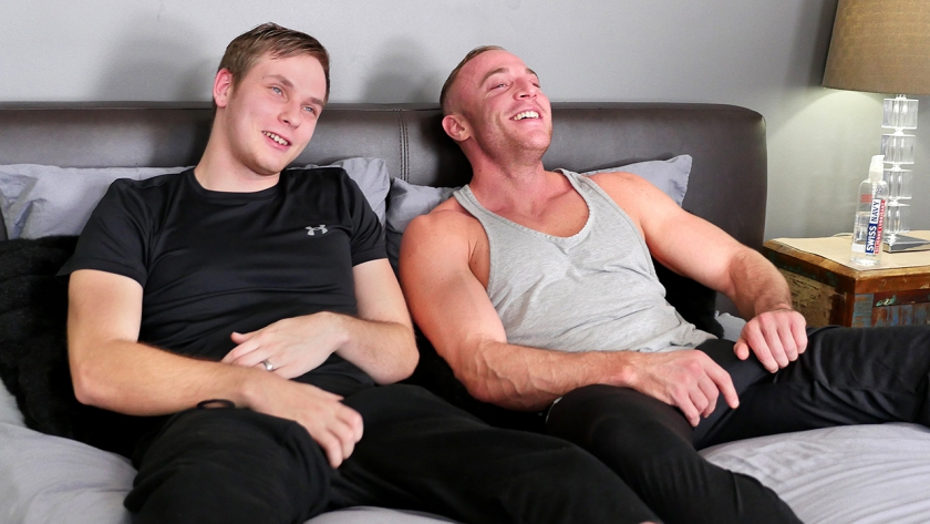 Rowan dominates Jacob hardcore in this hot scene!  We know you'll love watching as these guys  rim, suck and fuck until Jacob's sore ass can't take anymore!