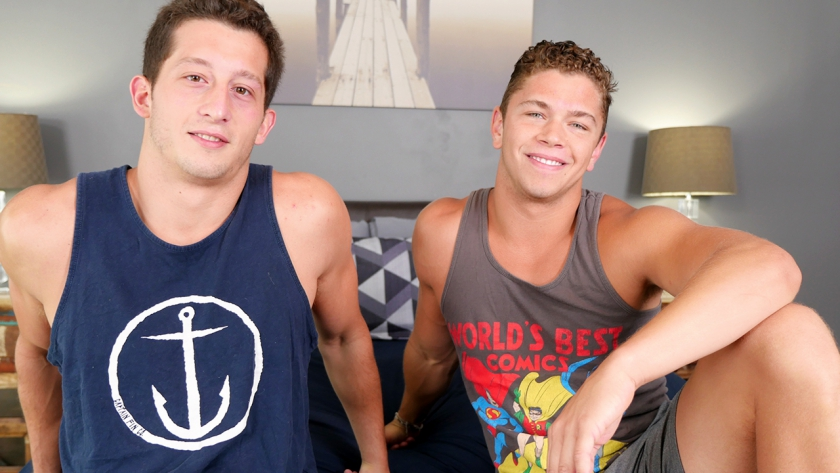 Sexy Drake is back with us to be fucked by the hot and sweaty Tanner Valentino. Today they take turns to fuck each  other.