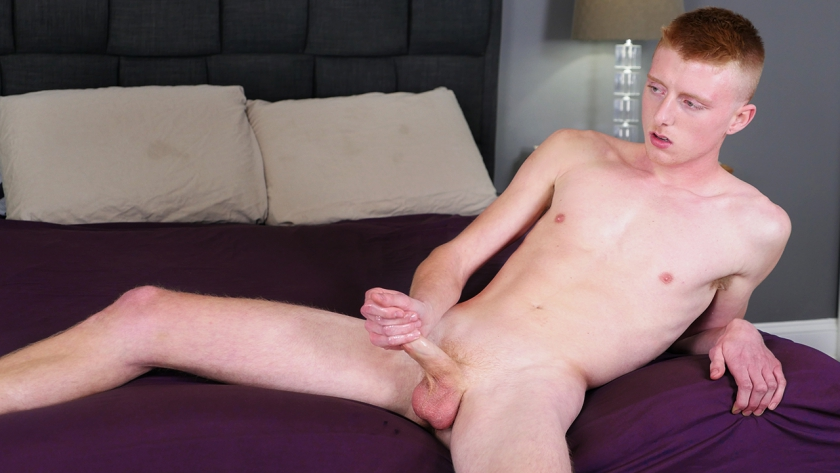 We've got a sexy new ginger for you, Richie West, and he's ready to jerk his dick and bust a nut for 