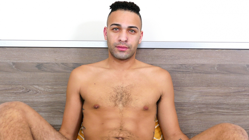 New guy Tyson is in the studio! We love watching this guy play with his ass before cumming on 