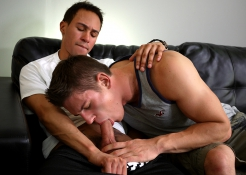 Santiago Figueroa is a beast in bed, and Alex Maxim is his willing victim! These boys get down and 