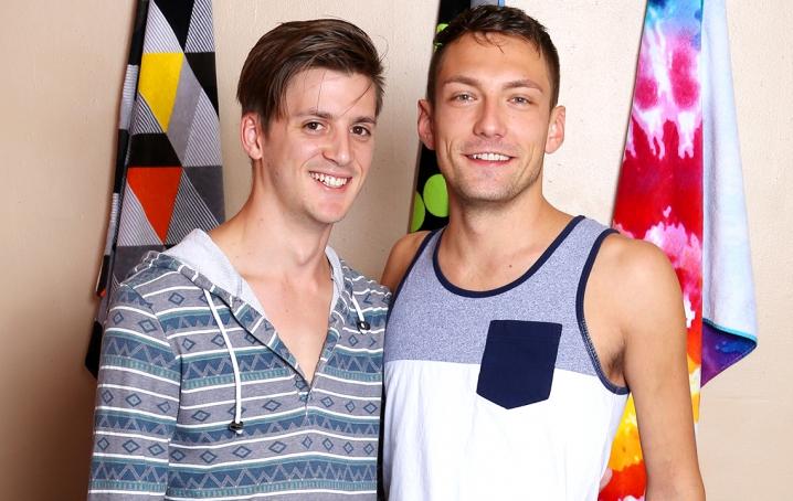 Sasha Alexander And Kyle Stone