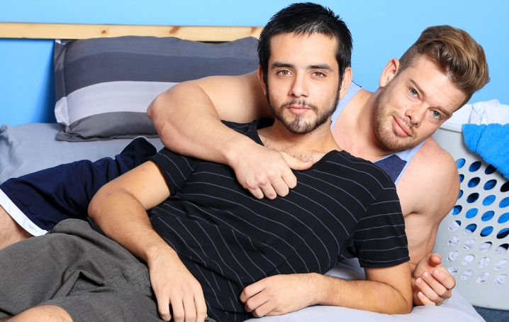 Adrian can't get enough of Ryan's perfectly muscular body, and the more he sees the more he wants 