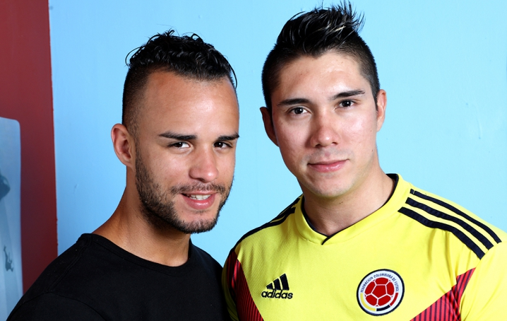 Adrian Suarez And Javier Cruz