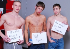 BROKE STRAIGHT BOYS - Blake, Brandon & Johnny Raw