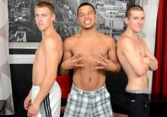 BROKE STRAIGHT BOYS - Adam, Mick & Kaden